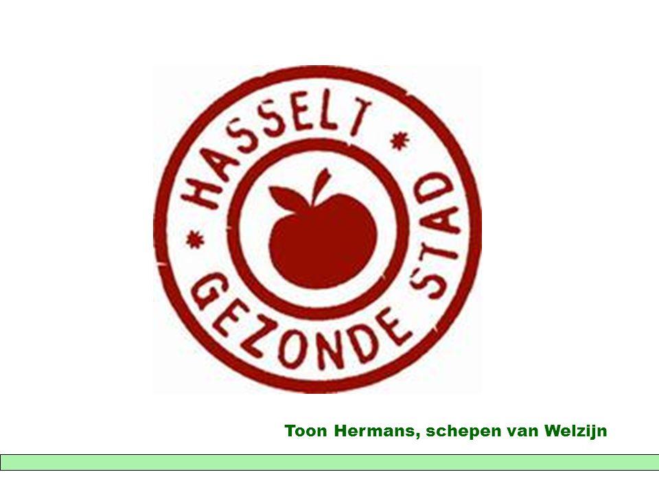 Toon Hermans, schepen van Welzijn