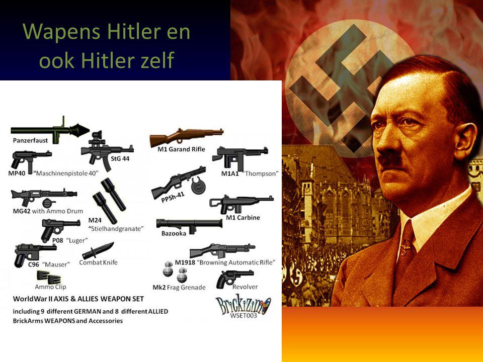 Wapens Hitler en ook Hitler zelf