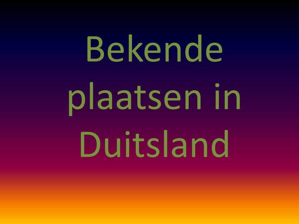 Bekende plaatsen in Duitsland