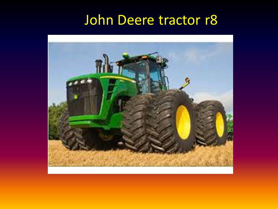 John Deere tractor r8