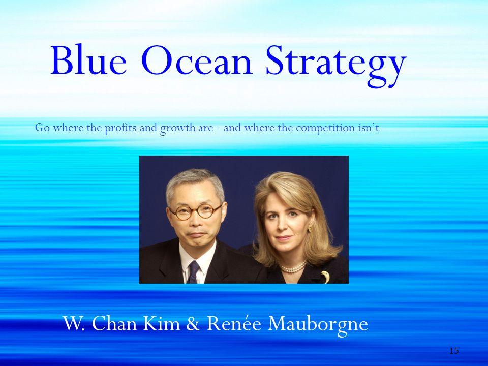 Blue Ocean Strategy W. Chan Kim & Renée Mauborgne