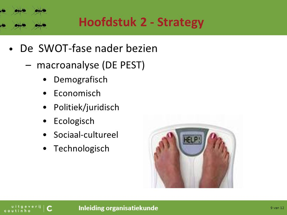 Hoofdstuk 2 - Strategy De SWOT-fase nader bezien