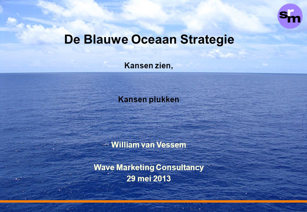 De Blauwe Oceaan Strategie Wave Marketing Consultancy