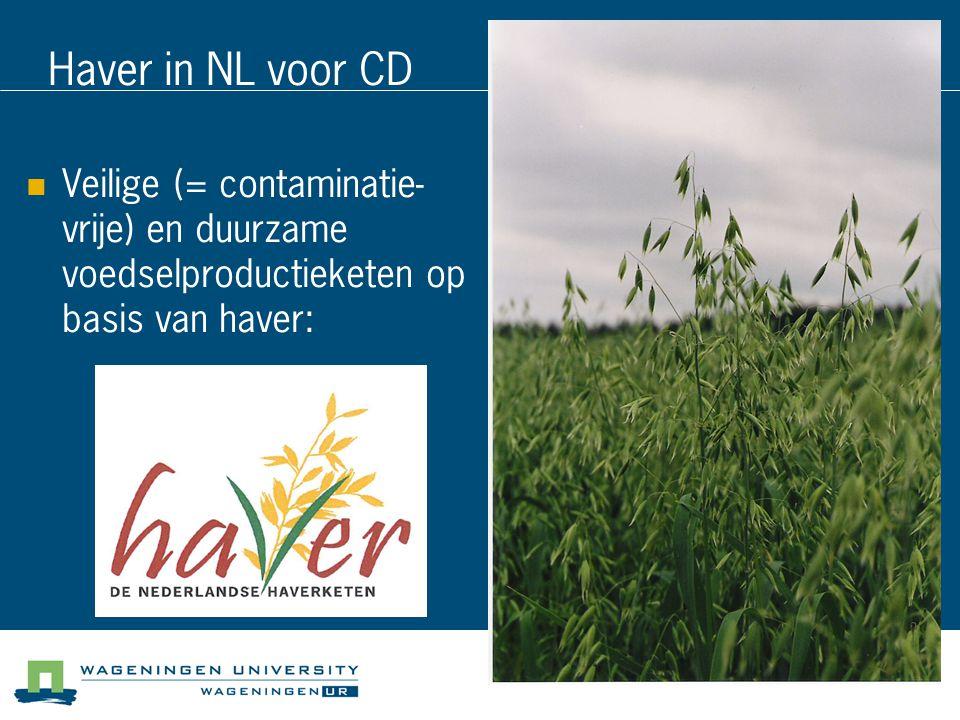 Haver in NL voor CD 04/04/2017.