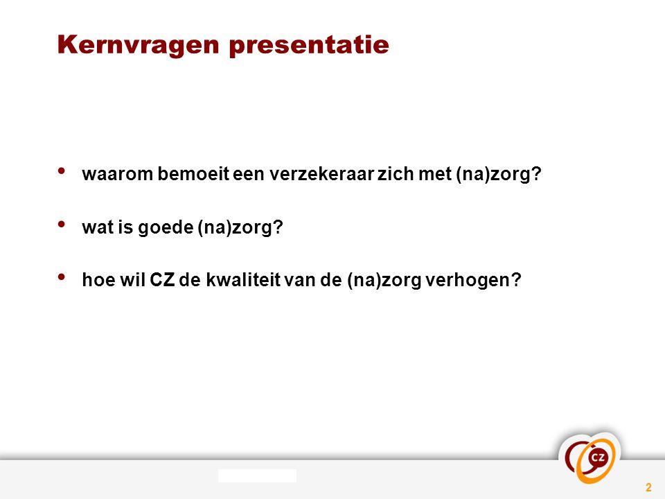Kernvragen presentatie