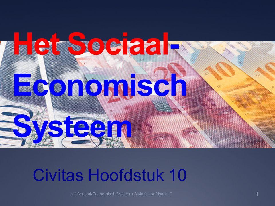 Het Sociaal-Economisch Systeem