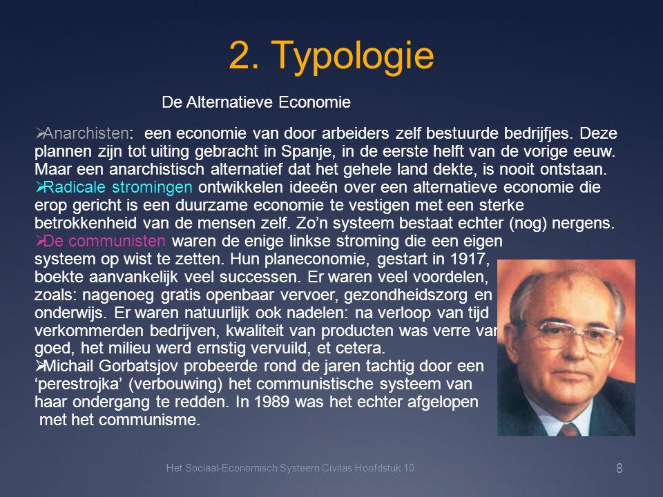 2. Typologie De Alternatieve Economie