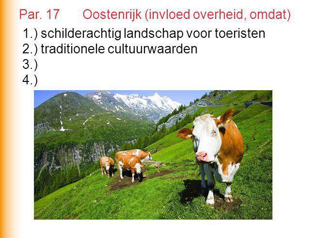 Par. 17 Oostenrijk (invloed overheid, omdat)