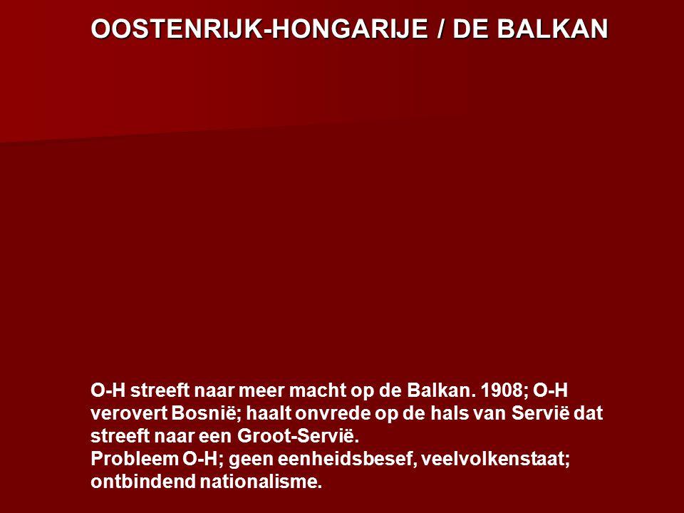 OOSTENRIJK-HONGARIJE / DE BALKAN