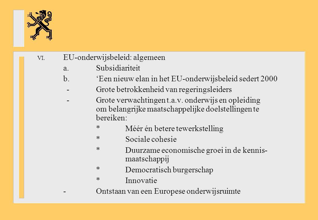 EU-onderwijsbeleid: algemeen