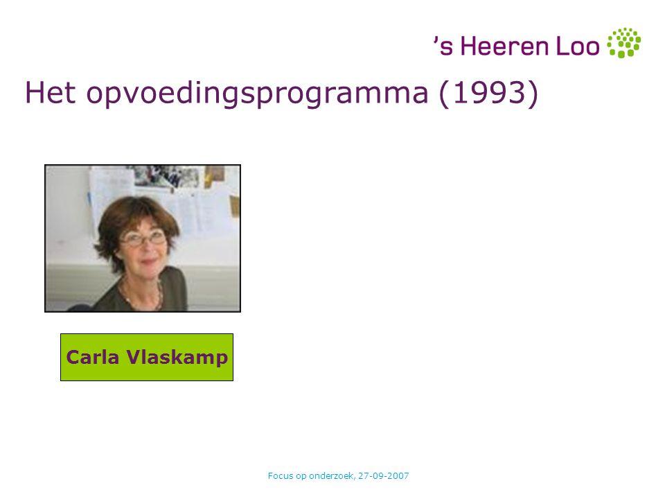 Het opvoedingsprogramma (1993)