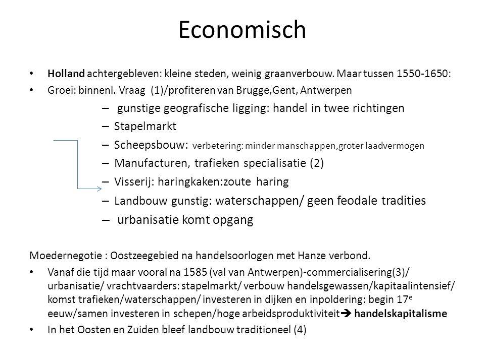 Economisch urbanisatie komt opgang