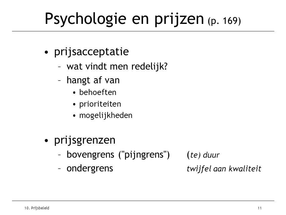 Psychologie en prijzen (p. 169)
