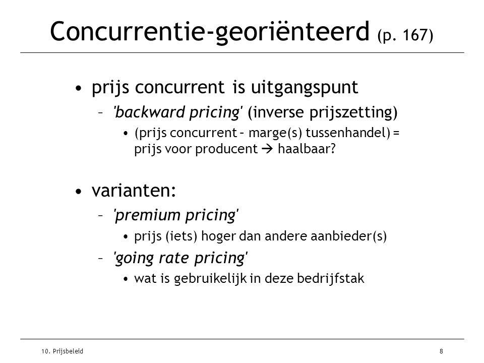 Concurrentie-georiënteerd (p. 167)