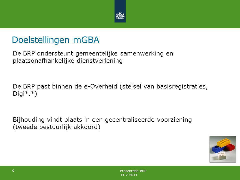 Doelstellingen mGBA