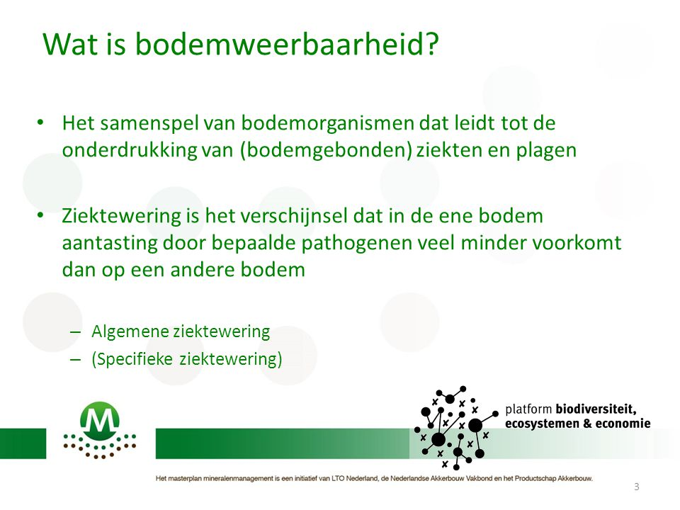 Wat is bodemweerbaarheid