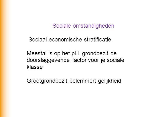 Sociale omstandigheden