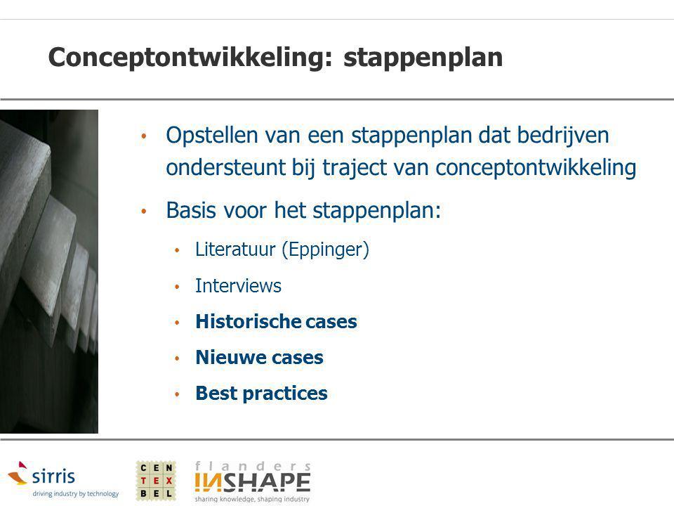 Conceptontwikkeling: stappenplan