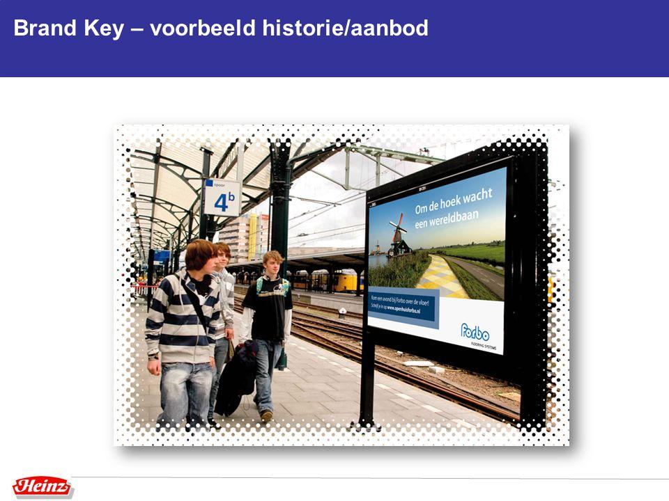 Brand Key – voorbeeld historie/aanbod