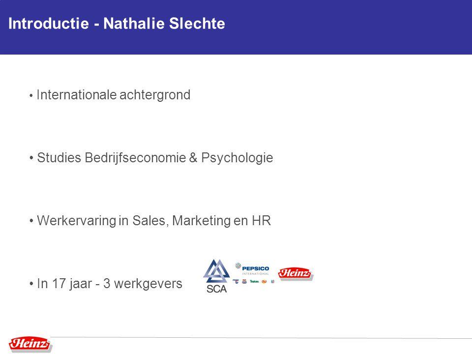 Introductie - Nathalie Slechte
