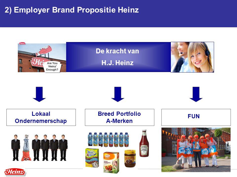 2) Employer Brand Propositie Heinz