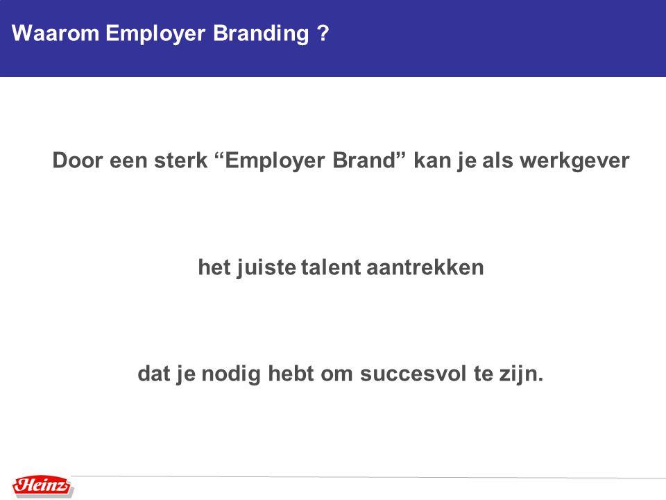 Waarom Employer Branding