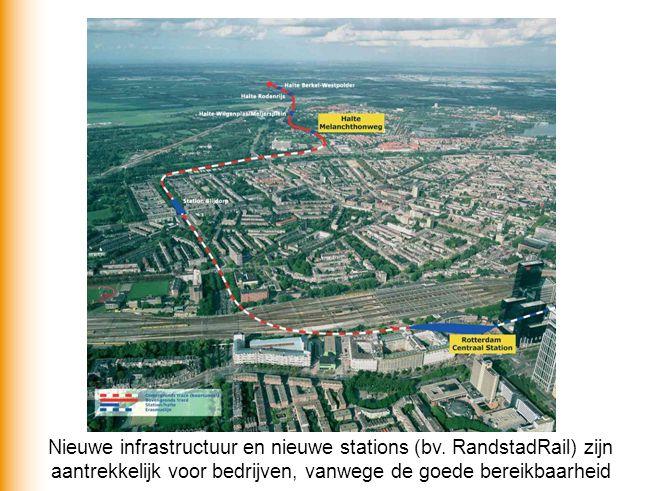 Nieuwe infrastructuur en nieuwe stations (bv
