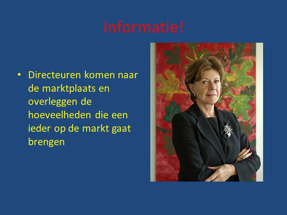 Informatie.
