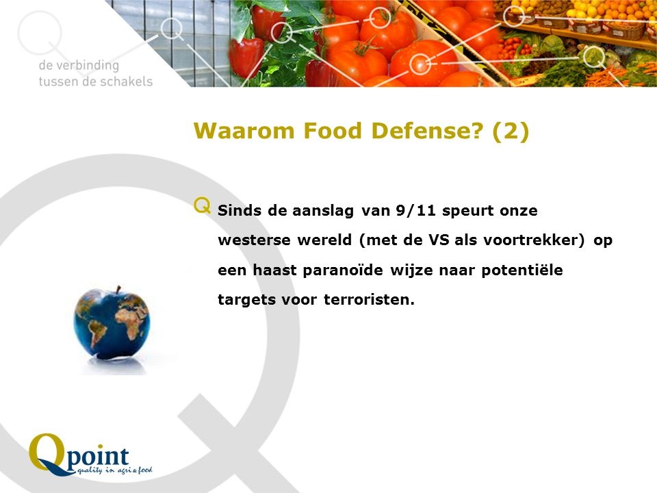 Waarom Food Defense (2)