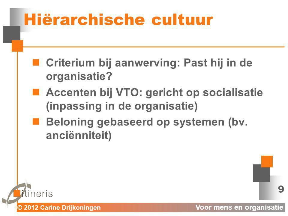 Hiërarchische cultuur