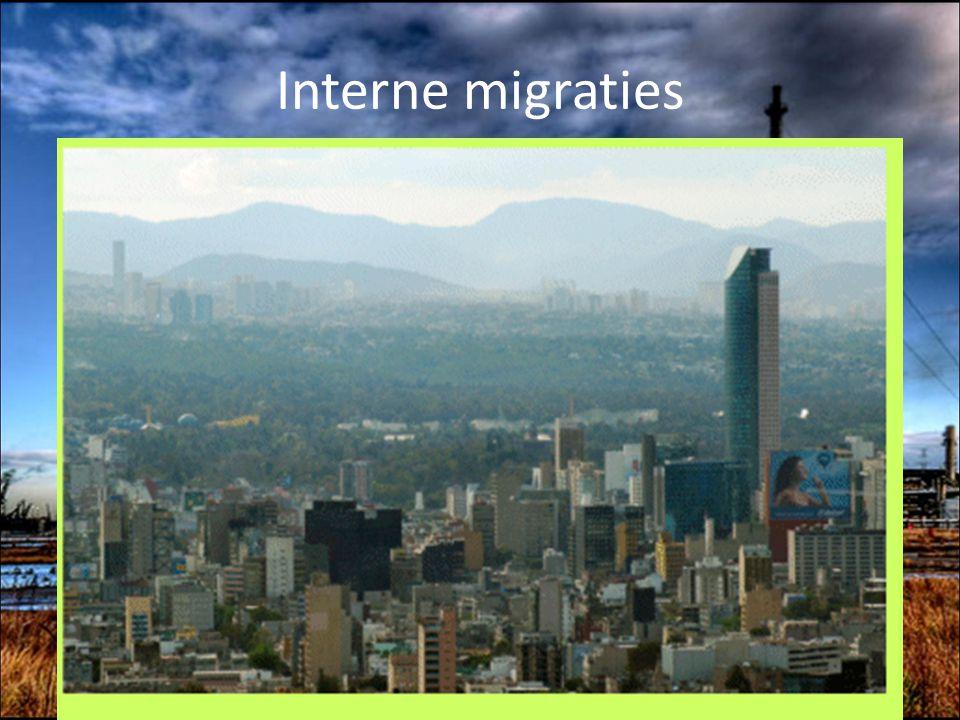 Interne migraties Favella's