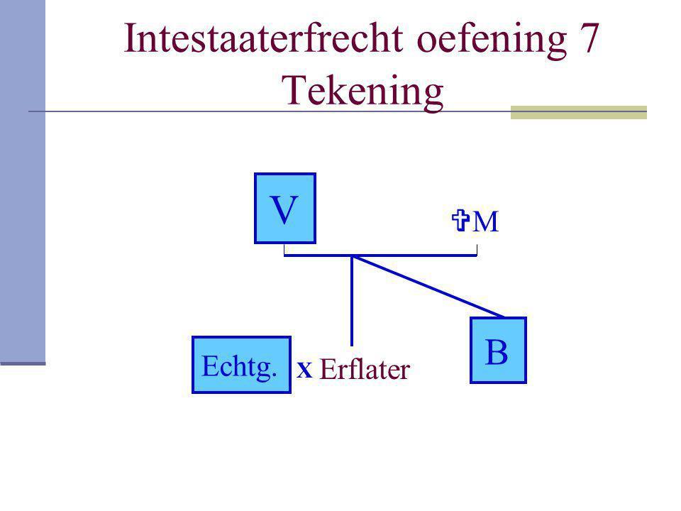 Intestaaterfrecht oefening 7 Tekening
