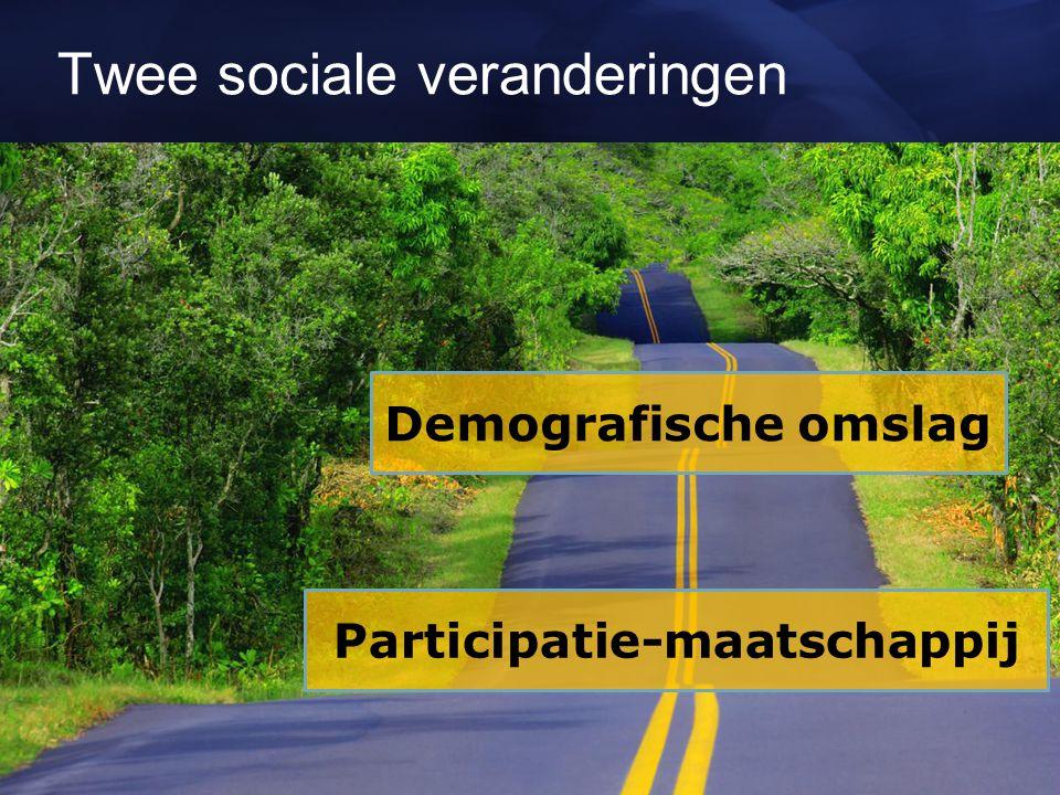 Twee sociale veranderingen