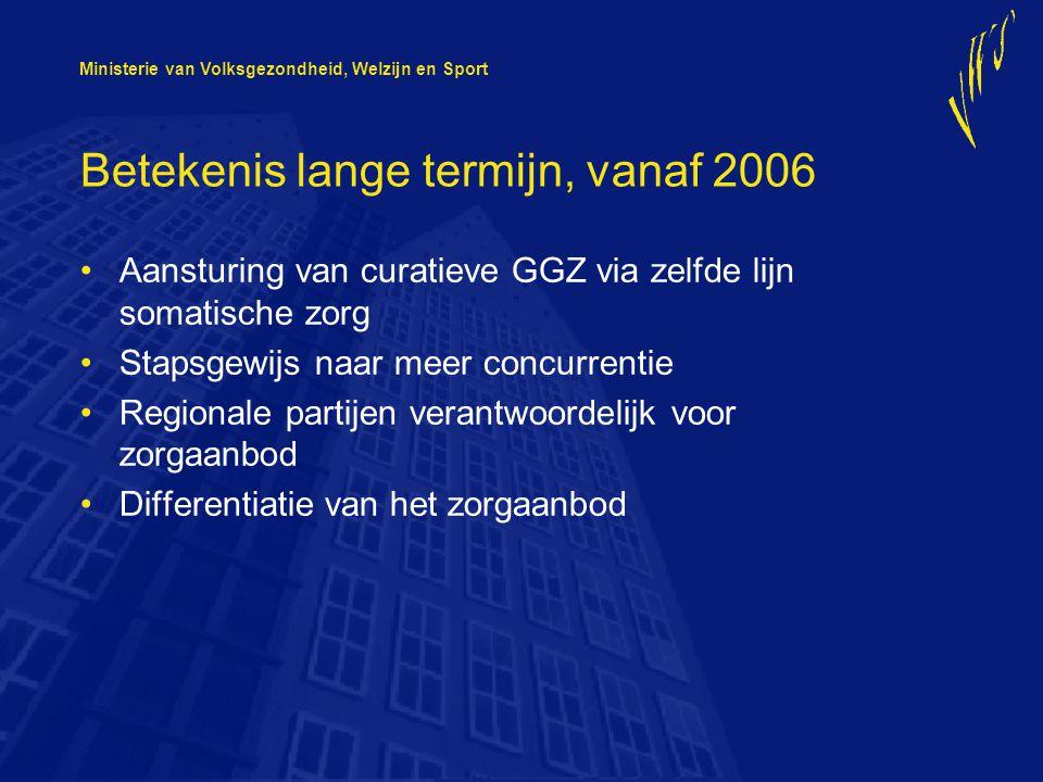 Betekenis lange termijn, vanaf 2006