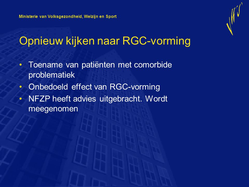 Opnieuw kijken naar RGC-vorming