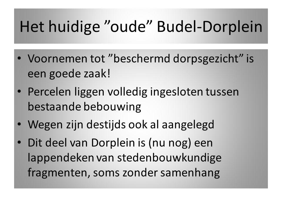 Het huidige oude Budel-Dorplein