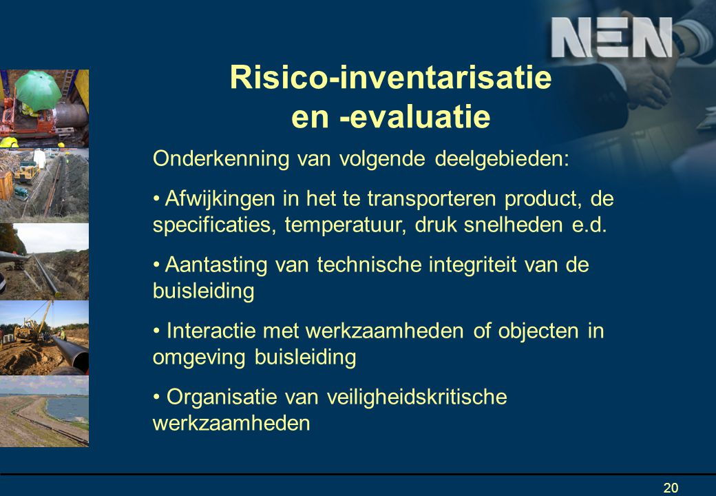 Risico-inventarisatie en -evaluatie
