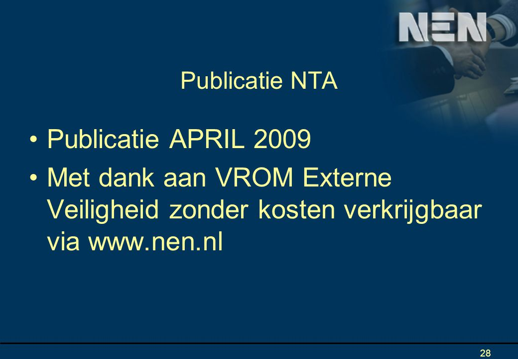 Publicatie NTA Publicatie APRIL 2009.
