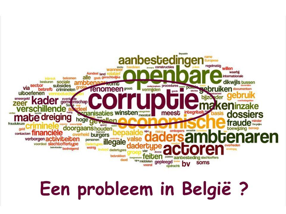 Een probleem in België