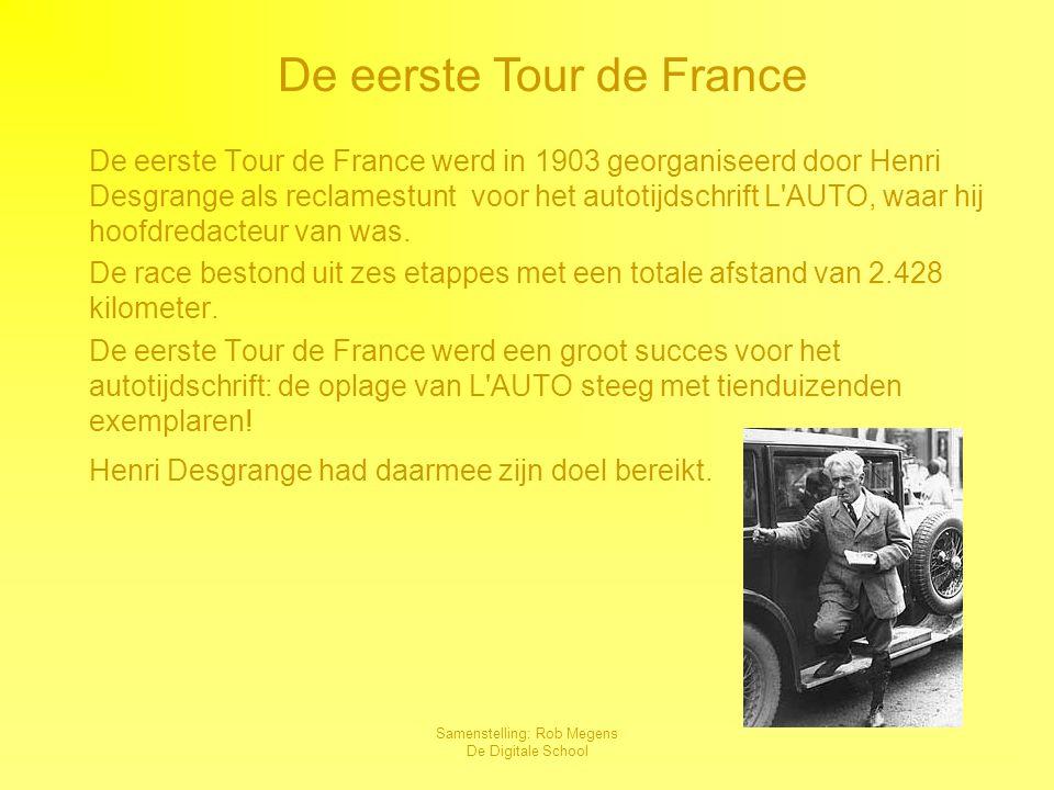 De eerste Tour de France