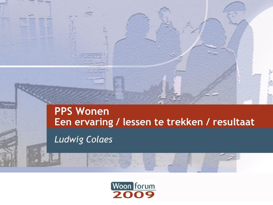 PPS Wonen Een ervaring / lessen te trekken / resultaat
