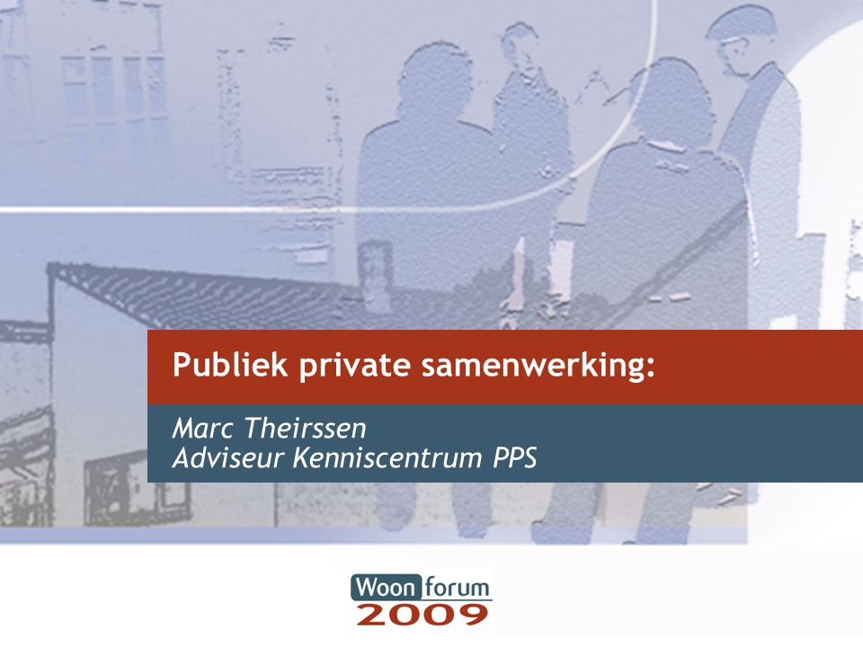 Publiek private samenwerking: