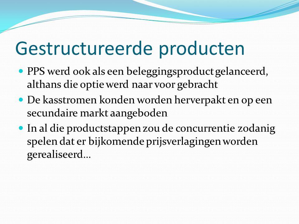 Gestructureerde producten