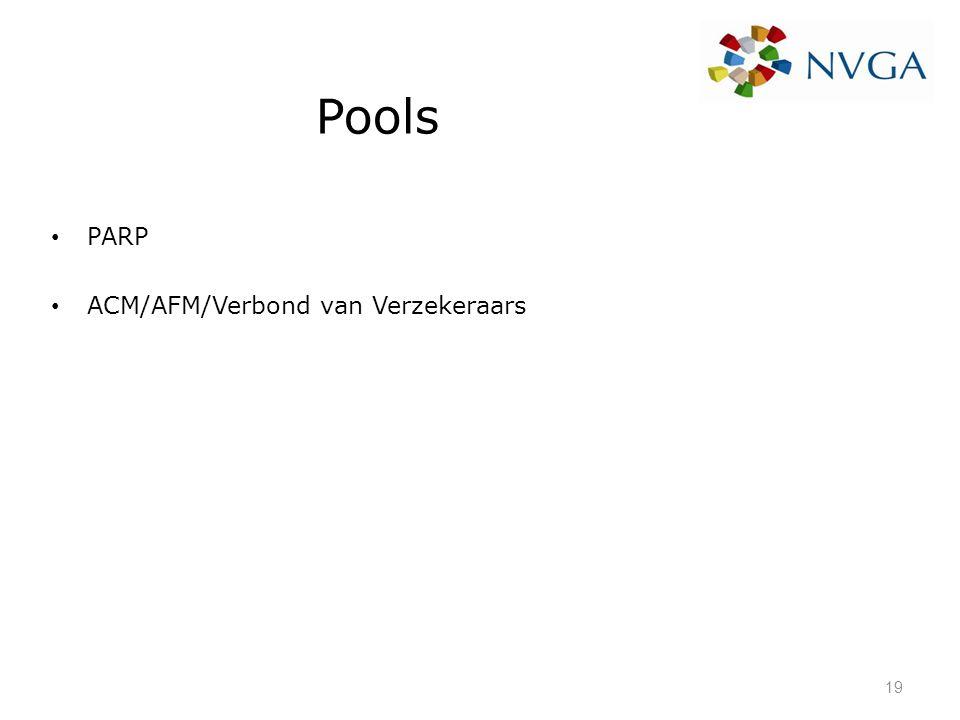 Pools PARP ACM/AFM/Verbond van Verzekeraars