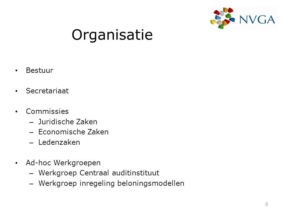Organisatie Bestuur Secretariaat Commissies Juridische Zaken