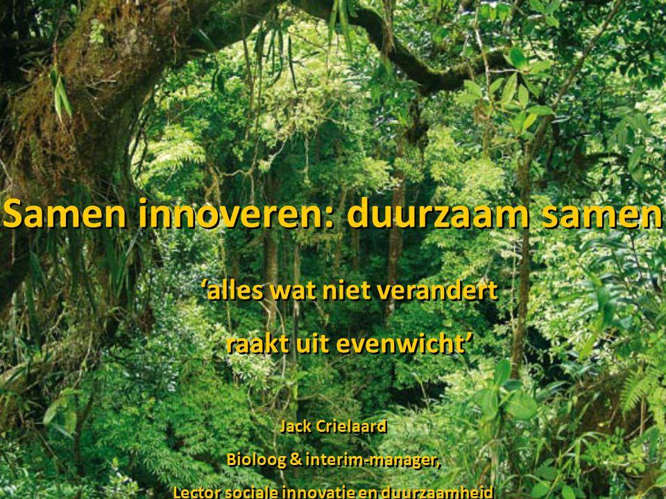 Samen innoveren: duurzaam samen