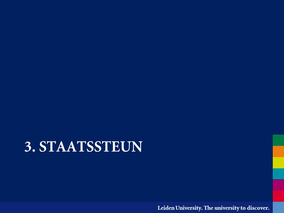 3. staatssteun