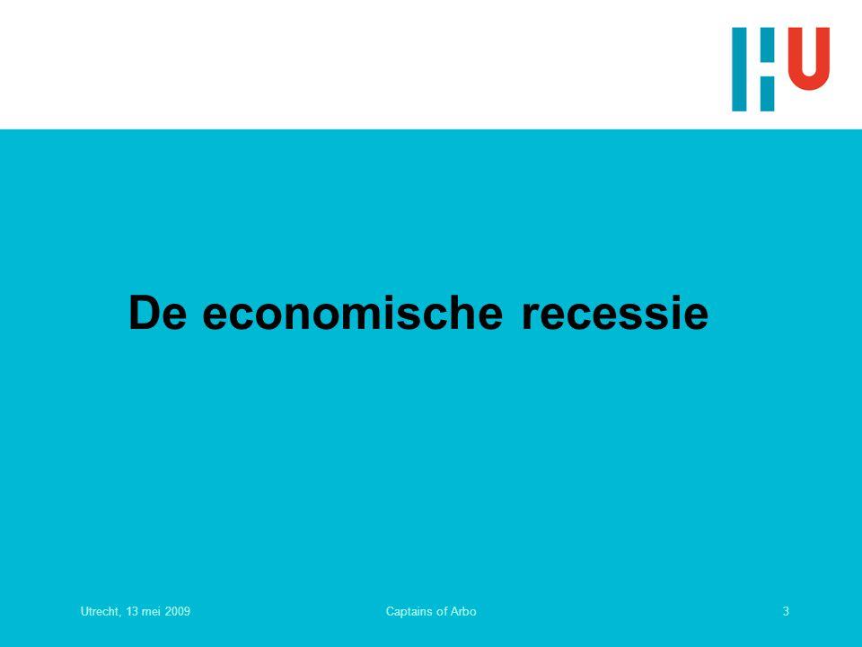 De economische recessie