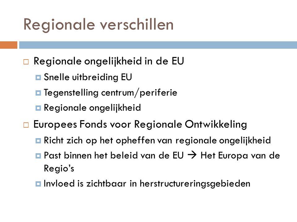 Regionale verschillen