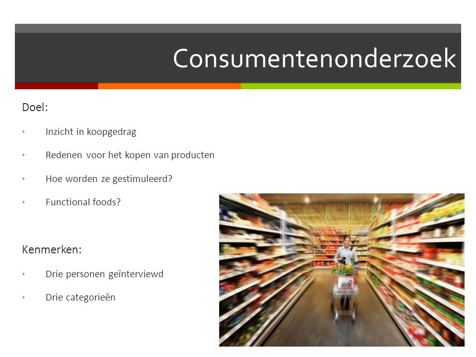 Consumentenonderzoek